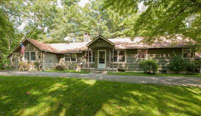 Single Family Home For Sale: 323 Foster Hill Rd
