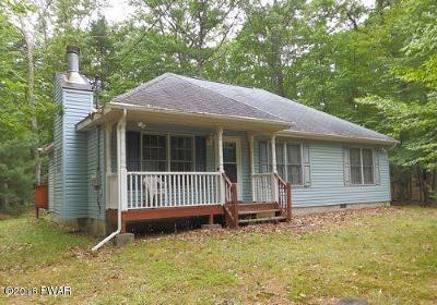 Dingmans Ferry PA Single Family Home For Sale: $124,900