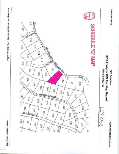 Pocono Mt Woodland Lakes Residential Lots & Land For Sale: Nelson Rd