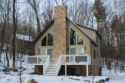 Wallenpaupack Lake Estates, Lake Wallenpaupack Estate Single Family Home For Sale: 5 Beaver Lake Dr