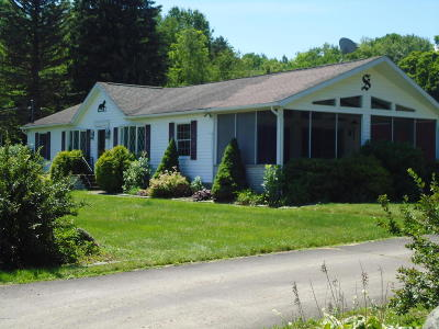 Lake Ariel Single Family Home For Sale: 88 Moore Rd