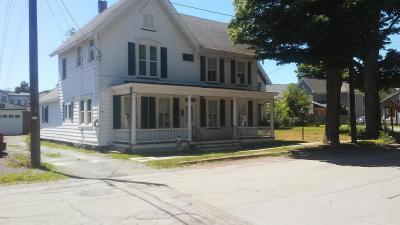 Hawley Single Family Home For Sale: 216 Penn Ave