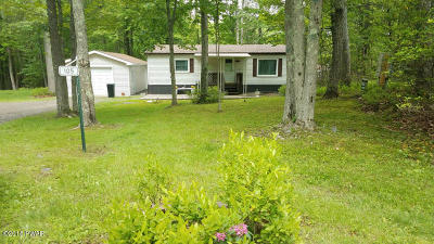 Tafton PA Single Family Home For Sale: $68,000