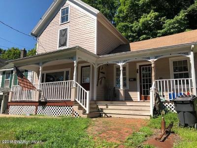 Honesdale Single Family Home For Sale: 320 Carroll St
