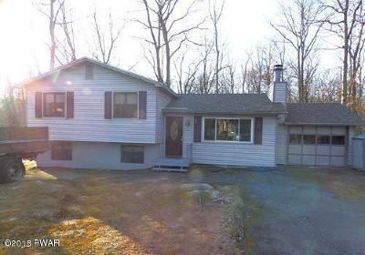 Dingmans Ferry PA Single Family Home For Sale: $129,900