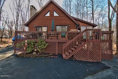 Lake Ariel Single Family Home For Sale: 2552 Oak Ln