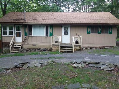 Dingmans Ferry PA Single Family Home For Sale: $105,000