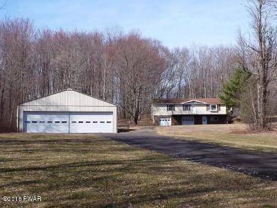 Honesdale Single Family Home For Sale: 16 Bomber Ln