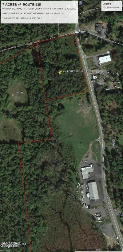 Gouldsboro Residential Lots & Land For Sale: 7 Acres Route 435