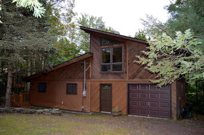 Wallenpaupack Lake Estates Single Family Home For Sale: 1096 Aquarius Dr