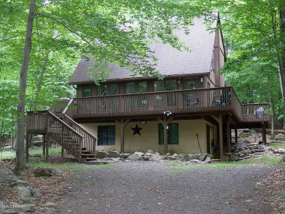 Lake Ariel Single Family Home For Sale: 3516 Burnwood Pt
