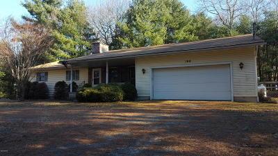 Shohola Single Family Home For Sale: 198 Little Walker Rd