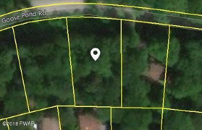 Wallenpaupack Lake Estates Residential Lots & Land For Sale: Goosepond Road