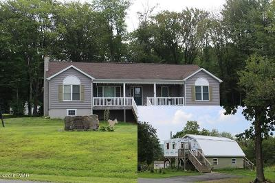 Lake Ariel Single Family Home For Sale: 239 & 240 Faller Rd