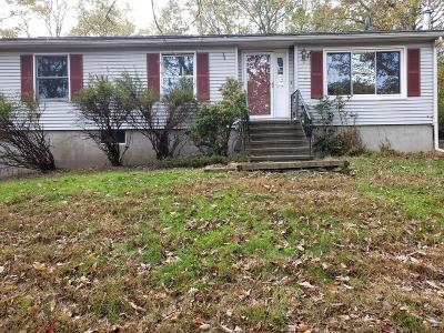 Milford PA Single Family Home For Sale: $94,500