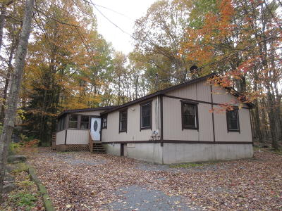 Lords Valley PA Single Family Home For Sale: $105,900
