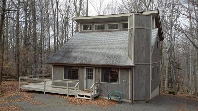Lake Ariel Single Family Home For Sale: 3533 Burnwood Pt