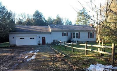 Honesdale Single Family Home For Sale: 879 Carley Brook Rd
