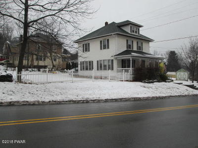 Honesdale Single Family Home For Sale: 284 Terrace St