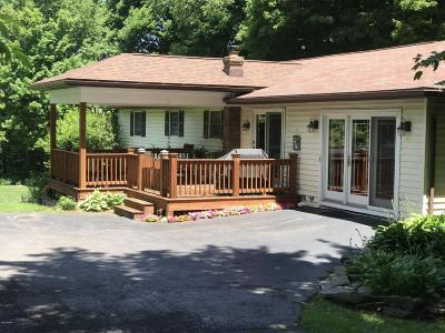 Honesdale Single Family Home For Sale: 2595 Lake Ariel Hwy