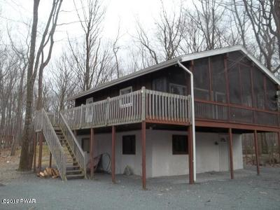 Lords Valley PA Single Family Home For Sale: $125,000