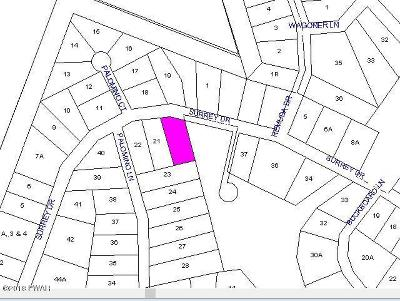 Residential Lots & Land For Sale: Lot 20 Surrey Drive
