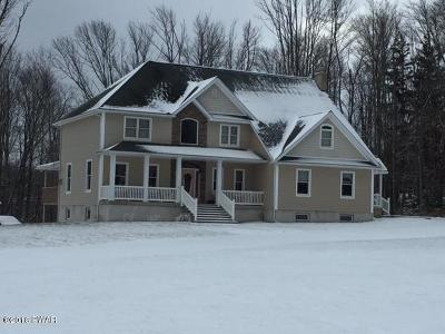 Lake Ariel Single Family Home For Sale: 1806 Lake Ariel Hwy