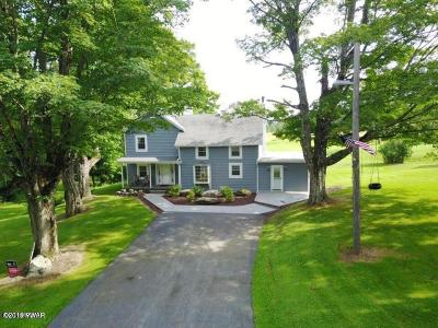 Pleasant Mount Single Family Home For Sale: 220 Great Bend Tpke