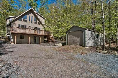 Lake Ariel Single Family Home For Sale: 4338 Wedge Rd