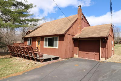 Lake Ariel Single Family Home For Sale: 1262 Brookfield Rd
