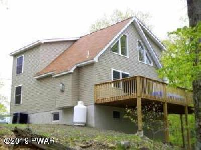 Wallenpaupack Lake Estates Single Family Home For Sale: 1019 Ski Bluff Ter