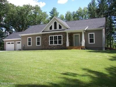 Hawley Single Family Home For Sale: 78 (Lot#) Hawks Nest Dr