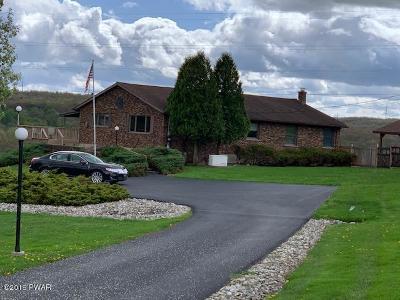Honesdale Single Family Home For Sale: 2326 Owego Tpke