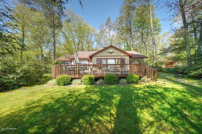 Paupack Single Family Home For Sale: 110 Fairview Point Rd