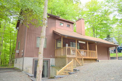 Wallenpaupack Lake Estates Single Family Home For Sale: 1005 Hidden Valley Ct
