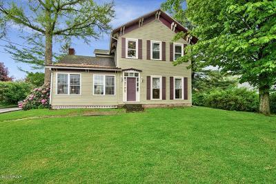 Lake Ariel Single Family Home For Sale: 595 Easton Tpke