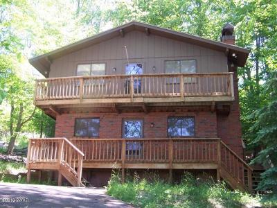 Lake Ariel Single Family Home For Sale: 2303 Brookfield Rd