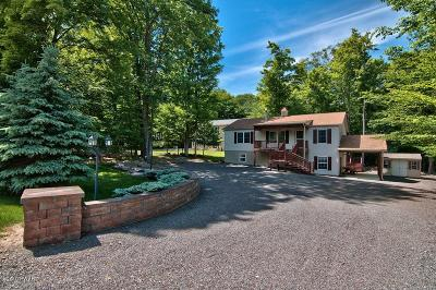 Lake Ariel Single Family Home For Sale: 2833 Rockway Rd