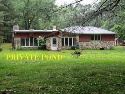 Single Family Home For Sale: 327 Foster Hill Rd