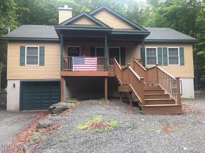 Lake Ariel Single Family Home For Sale: 3675 Hidden Lake Dr