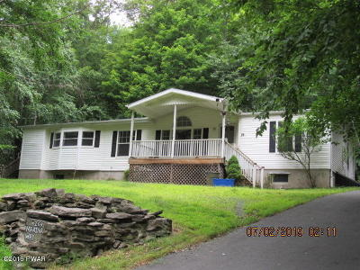 Greentown PA Single Family Home For Sale: $115,000