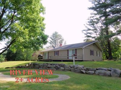 Lackawaxen Single Family Home For Sale: 101 St Vincent Point Rd