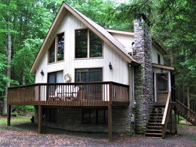 Lake Ariel Single Family Home For Sale: 2522 Oak Cir