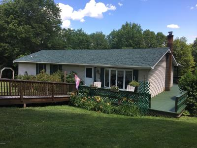 Honesdale Single Family Home For Sale: 61 Rocky Springs Rd
