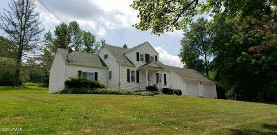 Honesdale Single Family Home For Sale: 744 Carley Brook Rd