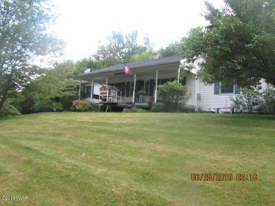 Newfoundland Single Family Home For Sale: 298 Pine Grove Rd