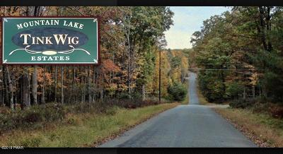 Tink Wig Mountain Lake Estates Residential Lots & Land For Sale: 838 Muldovan Road