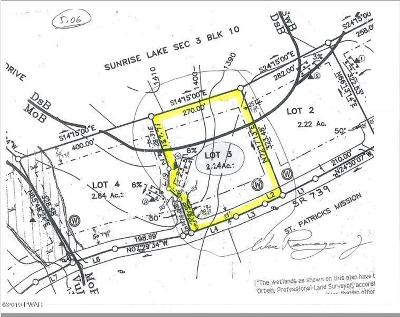 Milford Commercial For Sale: Lot 3 Route 739