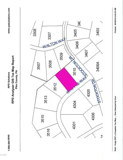 Conashaugh Lakes Residential Lots & Land For Sale: Lot-3511 Whipple Way