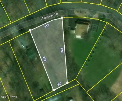 Lake Ariel Residential Lots & Land For Sale: 156 S Fairway Dr